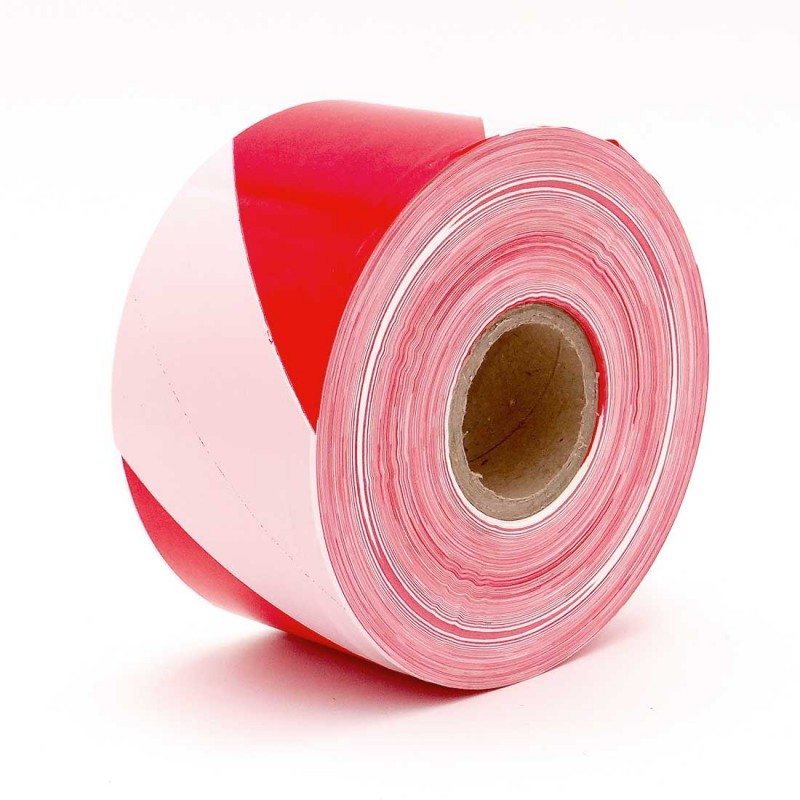 Red White Not Adhesive Barrier tape