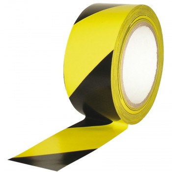 Yellow black Not Adhesive Barrier tape
