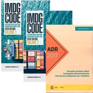 IMDG ADR RID code and regulations for transport of hazardous goods